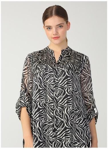Ekol Ekol 03525.1 Siyah Kadın Bluz Siyah